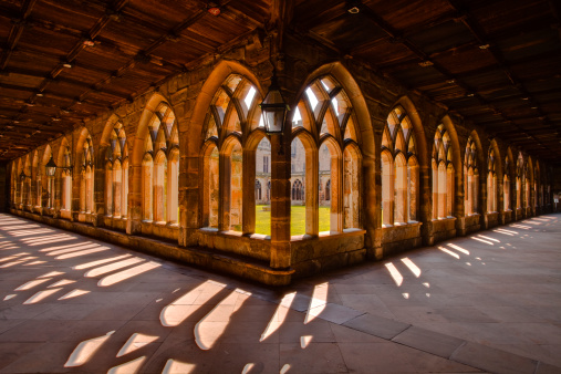 Cloister「The cloisters of Durham cathedral.」:スマホ壁紙(10)