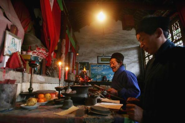 Cancan Chu「Taoist Monks Living In China」:写真・画像(6)[壁紙.com]