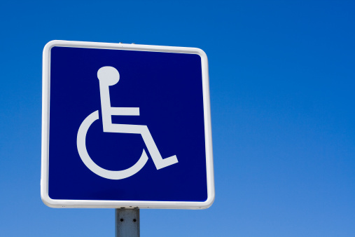 Accessibility Sign「Disabled - wheelchair sign」:スマホ壁紙(15)