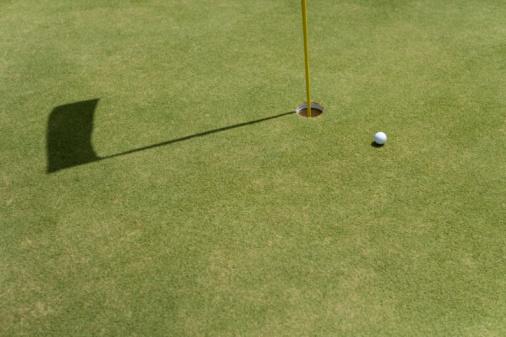 Golf Links「Golf Ball on Green」:スマホ壁紙(6)