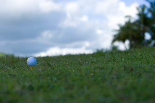 Northern Mariana Islands「Golf ball on grass, Saipan, USA 」:スマホ壁紙(10)