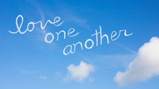 名画「Love one another」:スマホ壁紙(11)