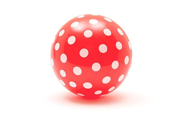 Dotted Red Ball:スマホ壁紙(壁紙.com)