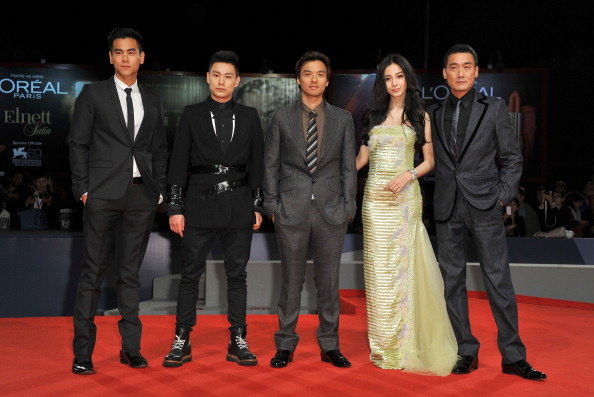 "Angelababy「""Tai Chi O"" Premiere - The 69th Venice Film Festival」:写真・画像(13)[壁紙.com]"