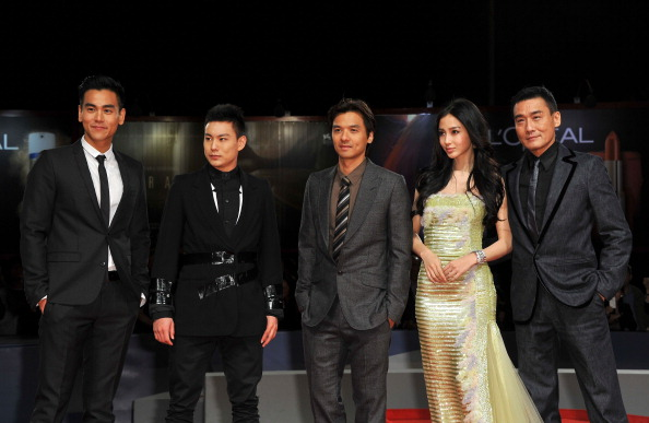 "Angelababy「""Tai Chi O"" Premiere - The 69th Venice Film Festival」:写真・画像(16)[壁紙.com]"