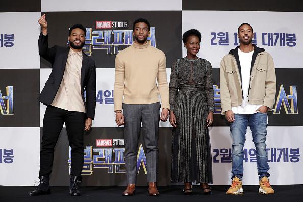 映画界「'Black Panther' Seoul Premiere - Press Conference」:写真・画像(17)[壁紙.com]