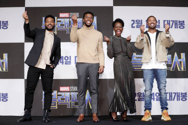 Film Industry「'Black Panther' Seoul Premiere - Press Conference」:写真・画像(0)[壁紙.com]