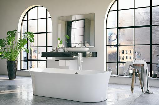 Relaxation「Loft Bathroom」:スマホ壁紙(1)
