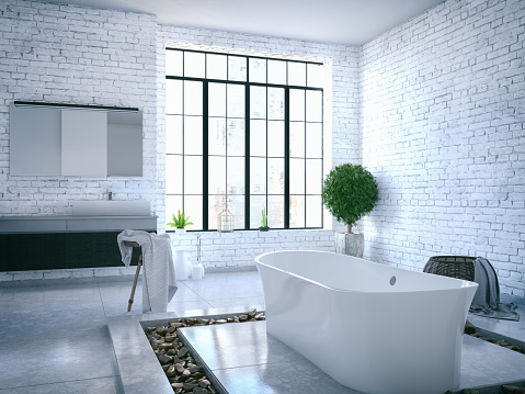 Architectural Feature「Loft Bathroom」:スマホ壁紙(13)