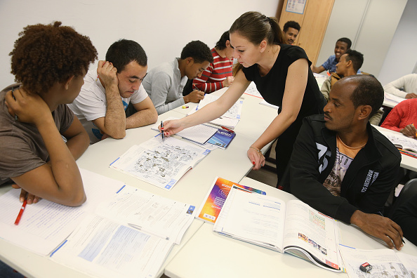 Germany「Migrants Seeking Asylum Learn German」:写真・画像(16)[壁紙.com]