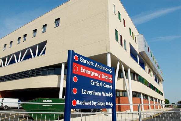 Copy Space「Garrett Anderson A & E department of Ipswich Hospital, Suffolk, UK」:写真・画像(19)[壁紙.com]