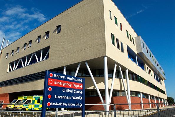 Construction Industry「Garrett Anderson A & E department of Ipswich Hospital, Suffolk, UK」:写真・画像(6)[壁紙.com]