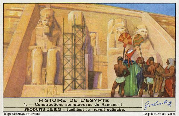 Ancient Civilization「Pharoah Ramesses II/ Ramses II / Ramses  constructed monuments such as Abu Simbel」:写真・画像(12)[壁紙.com]