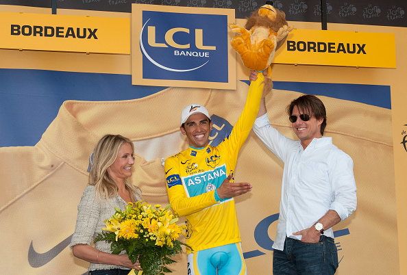 Sports Uniform「Tom Cruise And Cameron Diaz Attend The Eighteen Stage Of Le Tour」:写真・画像(7)[壁紙.com]
