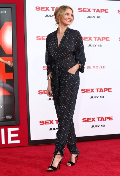 "出席する「Premiere Of Columbia Pictures' ""Sex Tape"" - Red Carpet」:写真・画像(2)[壁紙.com]"