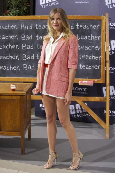 Shoe「Cameron Diaz attends 'Bad Teacher' Madrid Photocall」:写真・画像(2)[壁紙.com]