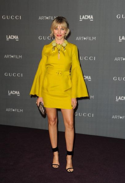 Yellow Dress「LACMA 2012 Art + Film Gala - Arrivals」:写真・画像(9)[壁紙.com]