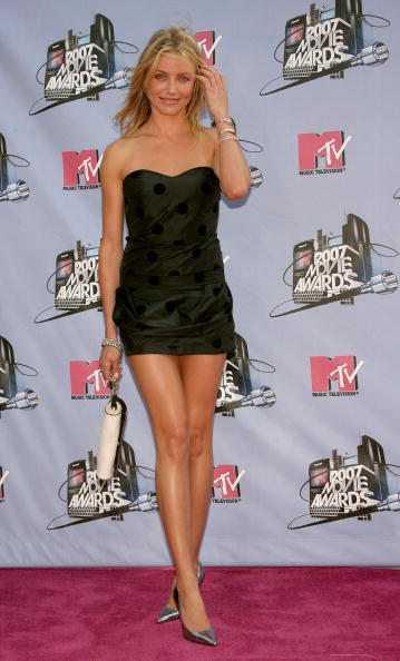 Mini Dress「2007 MTV Movie Awards - Arrivals」:写真・画像(7)[壁紙.com]
