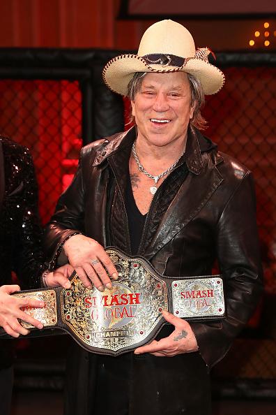ミッキー・ローク「SMASH Global VIII ñ Night Of Champions」:写真・画像(6)[壁紙.com]