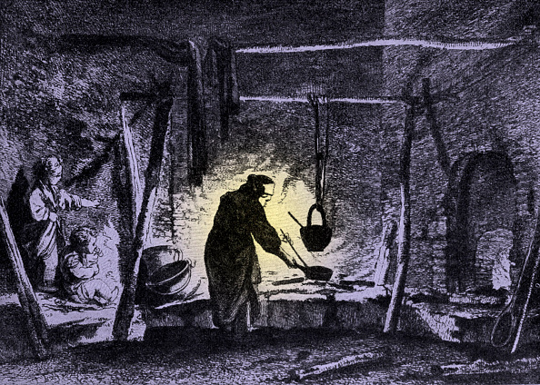 Preparing Food「Livonian peasants' kitchen」:写真・画像(4)[壁紙.com]