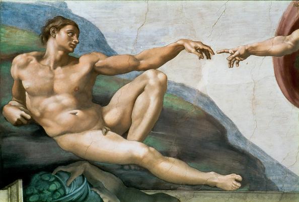 Garden Of Eden - Old Testament「The Creation Of Adam. Detail (Sistine Chapel Ceiling In The Vatican)」:写真・画像(17)[壁紙.com]