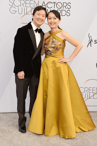 Yellow Dress「25th Annual Screen Actors Guild Awards - Arrivals」:写真・画像(12)[壁紙.com]