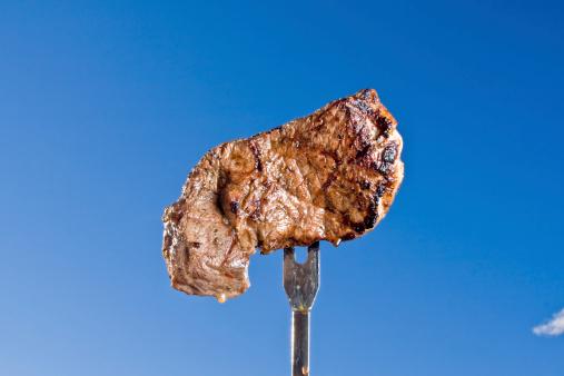 Sirloin Steak「Steak on a Fork」:スマホ壁紙(18)