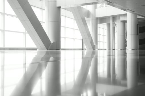 Arch - Architectural Feature「Columns Reflection」:スマホ壁紙(5)