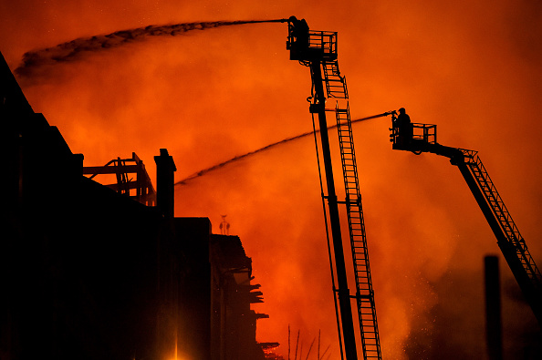 Glasgow「Glasgow School Of Art Building On Fire For The Second Time」:写真・画像(0)[壁紙.com]