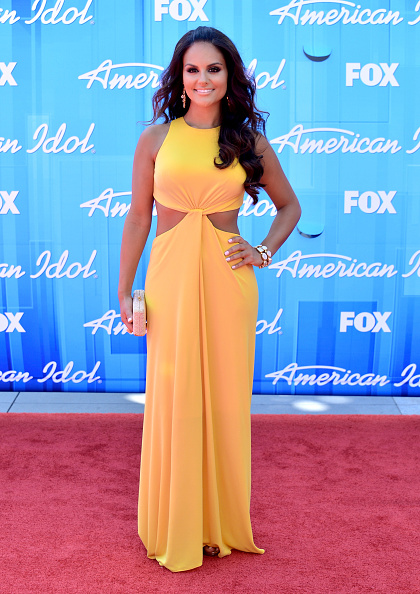 "Yellow Dress「Fox's ""American Idol 2012"" Finale - Results Show - Arrivals」:写真・画像(11)[壁紙.com]"