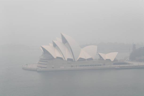 Smoke Haze Over Sydney As Fire Danger Risk Heightens:ニュース(壁紙.com)