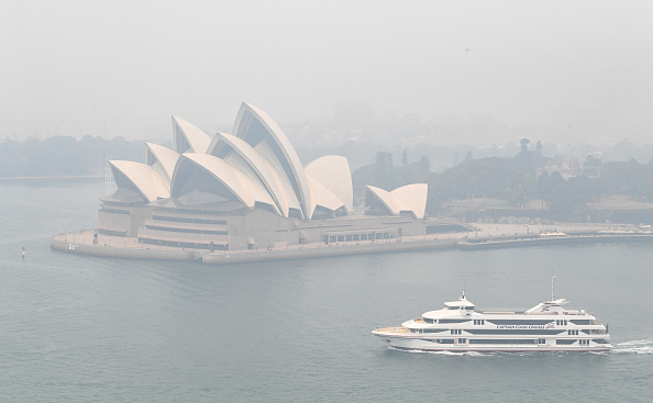 Sydney「Smoke Haze Over Sydney As Fire Danger Risk Heightens」:写真・画像(3)[壁紙.com]