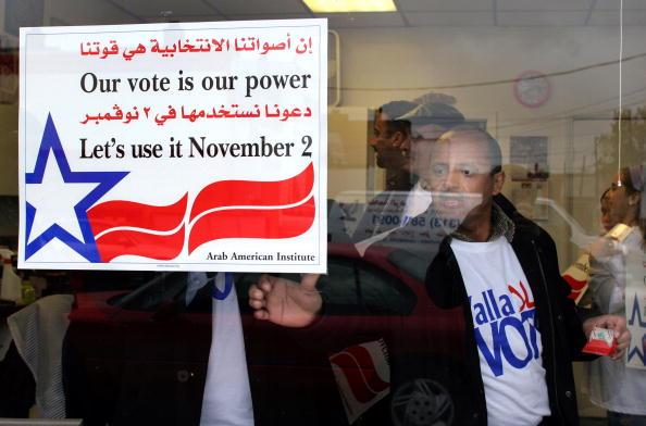 Dearborn - Michigan「Arab-Americans March For Voter Awareness」:写真・画像(18)[壁紙.com]