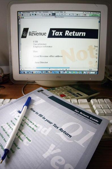 Keypad「UK Inland Revenue Online Tax Return」:写真・画像(17)[壁紙.com]