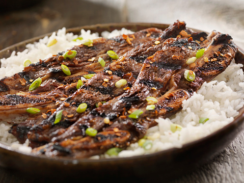 Basmati Rice「Korean Style BBQ Beef Short Ribs with Rice」:スマホ壁紙(6)