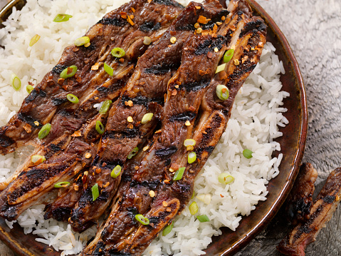 Basmati Rice「Korean Style BBQ Beef Short Ribs with Rice」:スマホ壁紙(18)
