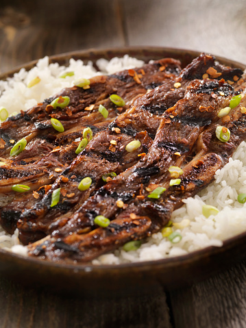 Jasmine Rice「Korean Style BBQ Beef Short Ribs with Rice」:スマホ壁紙(19)
