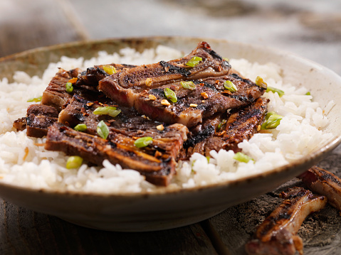 Jasmine Rice「Korean Style BBQ Beef Short Ribs with Rice」:スマホ壁紙(17)