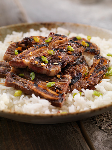 Jasmine Rice「Korean Style BBQ Beef Short Ribs with Rice」:スマホ壁紙(18)