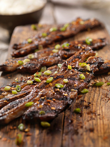Basmati Rice「Korean Style BBQ Beef Short Ribs with Rice」:スマホ壁紙(5)