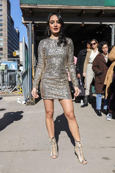 Achim Aaron Harding「Street Style - New York Fashion Week February 2019 - Day 3」:写真・画像(19)[壁紙.com]