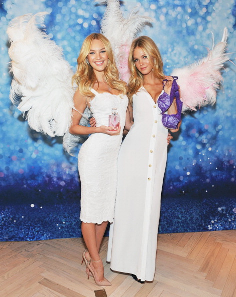エリン・ヘザートン「Victoria's Secret Launches Angel Fragrance And The Dream Angels Bra」:写真・画像(2)[壁紙.com]