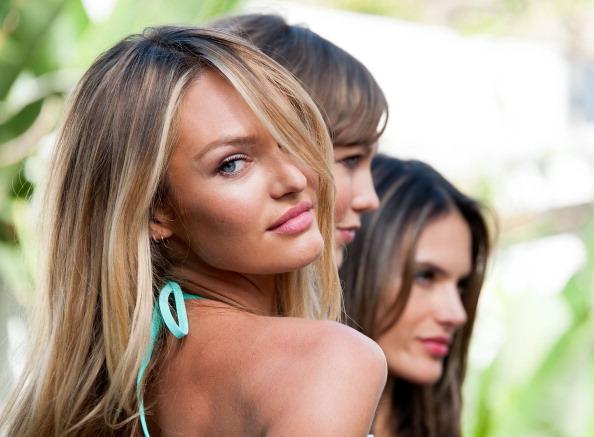 Candice Swanepoel「Victoria's Secret Launches The New 2013 Swim Collection」:写真・画像(9)[壁紙.com]