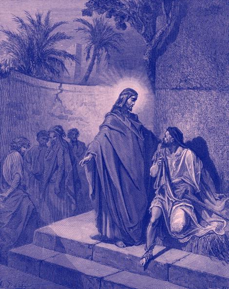 Miracle「Jesus healing a man sick of the palsy - Bible」:写真・画像(16)[壁紙.com]