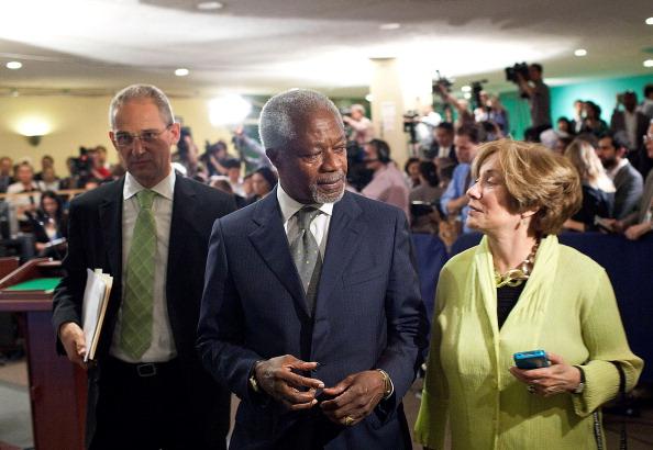 United Nations Building「Kofi Annan Briefs UN Security Council On Syria」:写真・画像(10)[壁紙.com]
