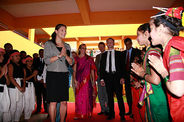 Crown Princess Victoria Of Sweden Visits Pune:ニュース(壁紙.com)
