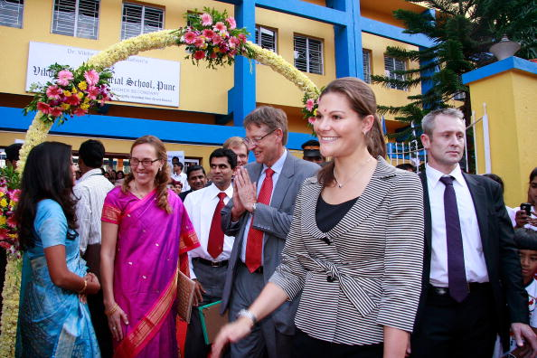 スウェーデン文化「Crown Princess Victoria Of Sweden Visits Pune」:写真・画像(17)[壁紙.com]