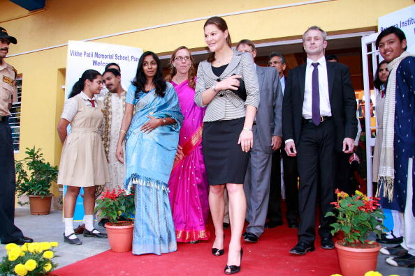 スウェーデン文化「Crown Princess Victoria Of Sweden Visits Pune」:写真・画像(18)[壁紙.com]