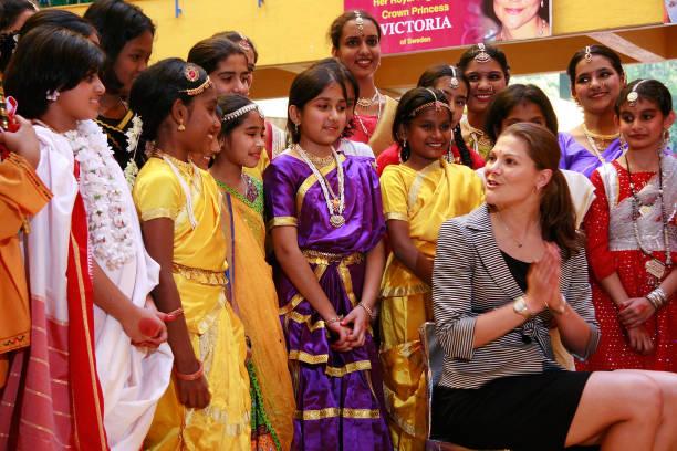 Crown Princess Victoria Of Sweden Visits Pune:ニュース(壁紙.com)