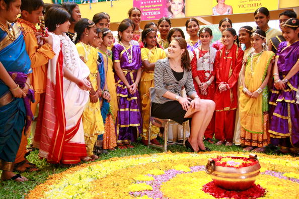 スウェーデン文化「Crown Princess Victoria Of Sweden Visits Pune」:写真・画像(19)[壁紙.com]